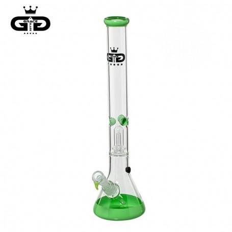 Grace Glass | Baked Beaker Green