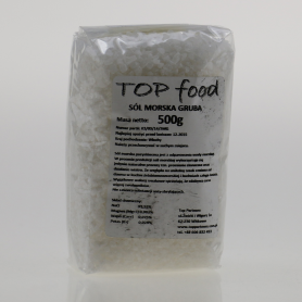 Coarse sea salt 500 g