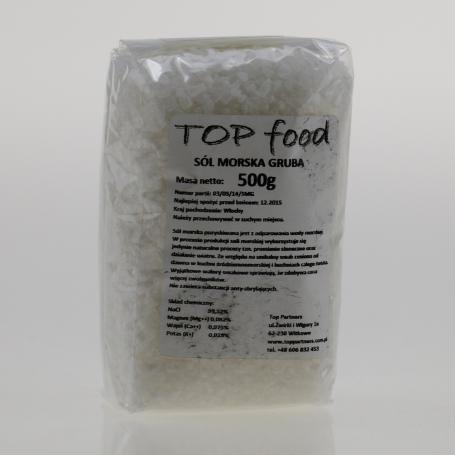Sól morska gruba 500 g