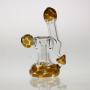 Pipe with spherical diffuser