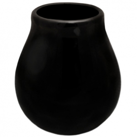 Matero ceramic Calabaza black