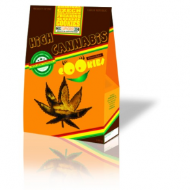 Ciasteczka Konopne Euphoria High Cannabis 100g