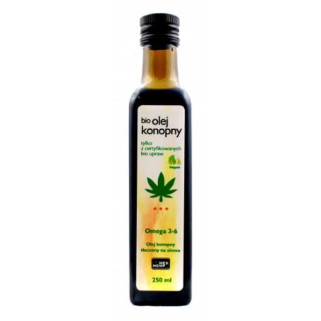 BIO Olej konopny MedHemp 250 ml