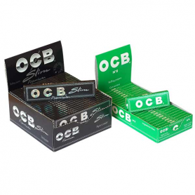 Zestaw : OCB Slim Premium + OCB No. 8 CC