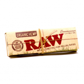 Bletki RAW Organic Connoisseur 1 1/4 + filtry