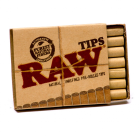 Ustniki papierowe RAW PREROLLED CONE TIPS