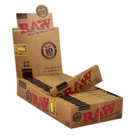 Bibułki RAW CLASSIC 1 1/2