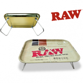 Metalowa tacka śniadaniowa do skręcania RAW