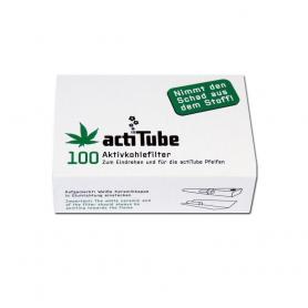 Filtry z węglem aktywnym ACTITUBE 100 szt