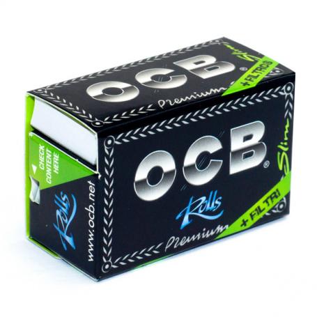 Bletki OCB Slim Premium Rolls + filtry