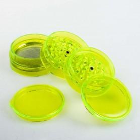 Plastikowy Młynek 5 częściowy Buddies 60 mm (Żółty)