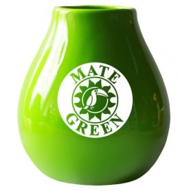 Matero Ceramico LUKA GREEN 350 ml z logo MATE GREEN