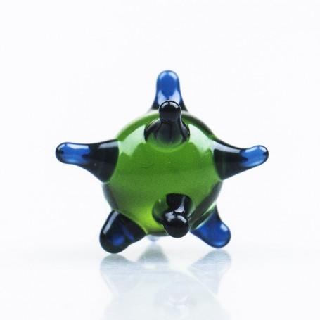 Sitko szklane - Zielono-niebieskie