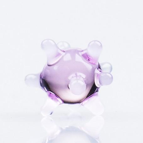 Sitko szklane - Różowe