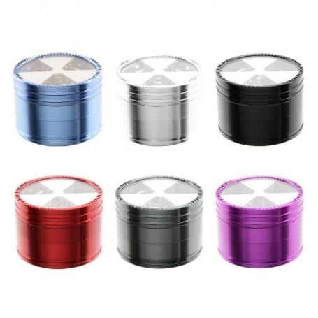 Młynek 4-częściowy Aluminowy - 6 kolorów
