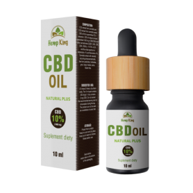 Olej konopny CBD - Natural Plus 10% (1000mg) - 10 ml