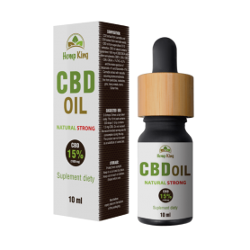 Olej konopny CBD - Natural Strong 15% (1500mg) - 10 ml