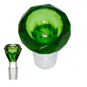 Grace Glass Green Diamond Bowl / 18,8 mm