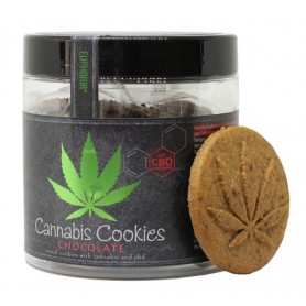 Ciasteczka Cannabis Cookies Chocolate z CBD 110g