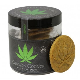 Ciasteczka Cannabis Cookies White Widow z CBD 110g