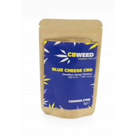 CBWeed Cannabis Light Blue Cheese CBD - 2g