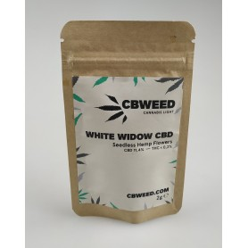 CBWeed Cannabis Light White Widow CBD - 2g
