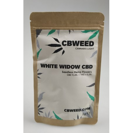 CBWeed Cannabis Light White Widow CBD - 5g