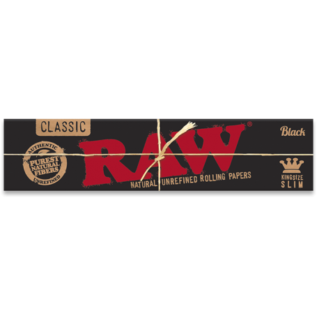 BIBUŁKI RAW BLACK KS SLIM