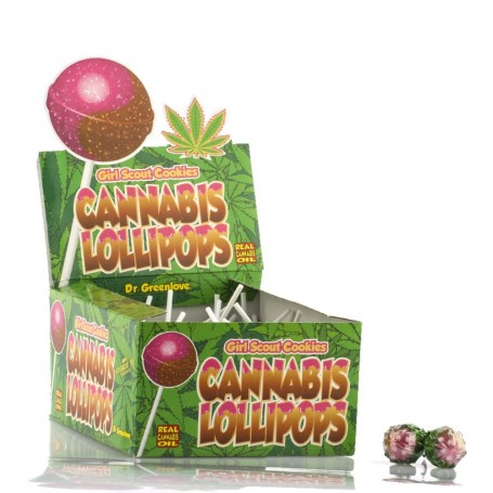 Lizak konopny Cannabis Lollipops