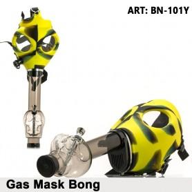 Maska bongo w kształcie czaszki