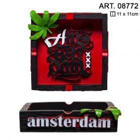 Popielniczka Amsterdam 11x11 cm