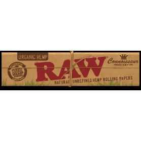 Bibułki RAW Organic Hemp Connoisseur KINGSIZE + filterki