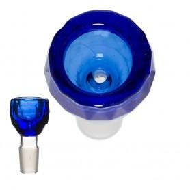 Cybuch Diamond Grace Glass - Granatowy / 18.8 mm
