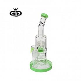 Bongo Grace Glass Double Bubble Green